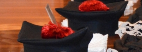 Immagine del tocco e della toga