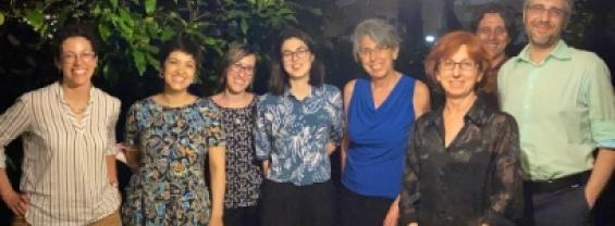 Foto del team di ricerca che ha partecipato alla riunione del 21.06.2021