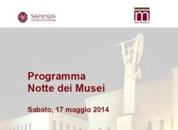 Notte dei Musei 2014