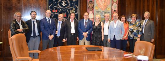 Firma del contratto di aggregazione DTC Lazio