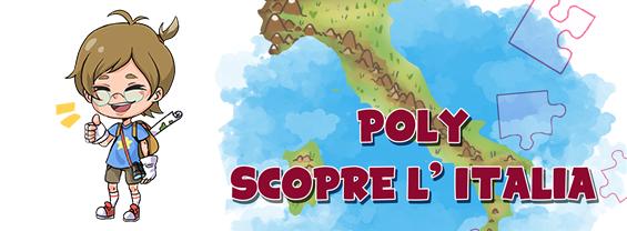 NOTTE DELLA GEOGRAFIA 2021  - Poly scopre l'Italia