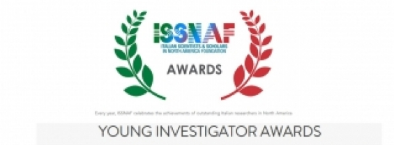 ISSNAF ITALIAN SCIENTISTS & SCOLARS IN NORTH AMERICA FOUNDATION YOUNG INVESTIGATOR AWARDS