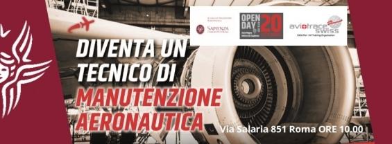 Diventa Tecnico di Manutenzione Aeronautica - Open Day