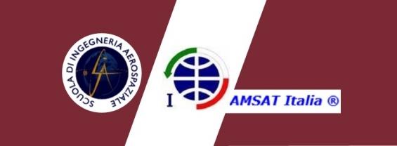 La Scuola di Ingegneria Aerospaziale e AMSAT Italia