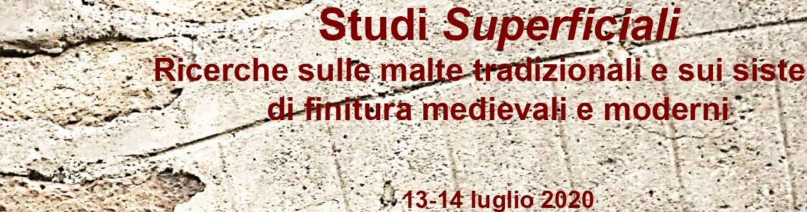 2020_GIORNATA DI STUDI_STUDI SUPERFICIALI